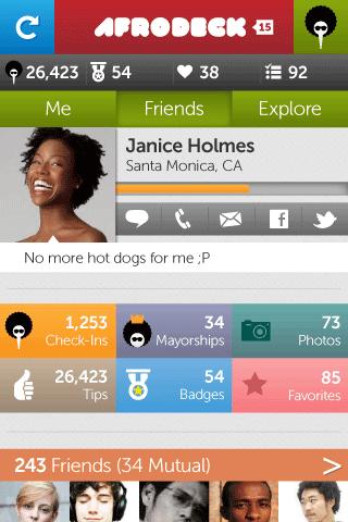 Afrodeck App UI