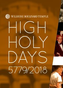WBT High Holy Days 2018