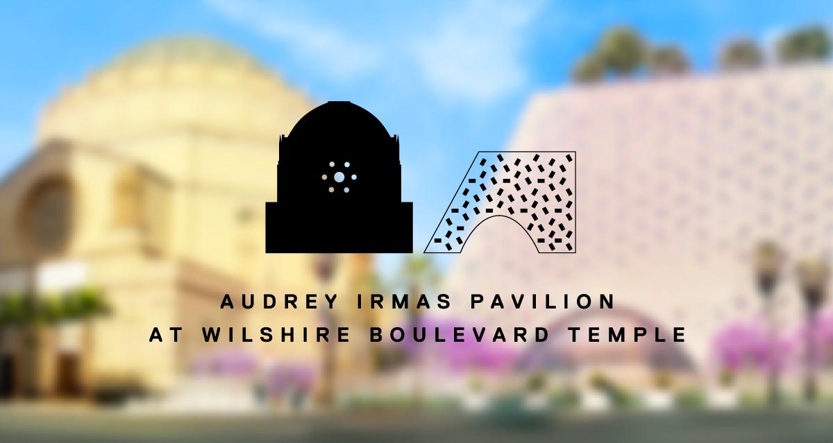 Audrey Irmas Pavilion Branding